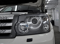 LAND ROVER SPORT— полировка фар
